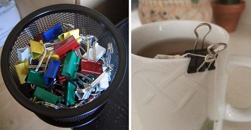 15 Alltagsprobleme, die du mit Foldbackklammern lösen kannst