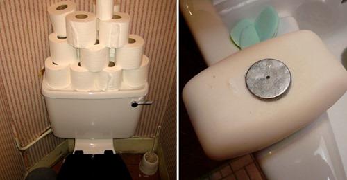 5 Dinge, die das Badezimmer hässlich und ungemütlich machen