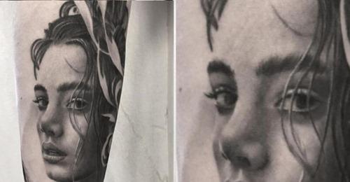 Die Tattoos dieses Künstlers sind fotorealistische Bilder