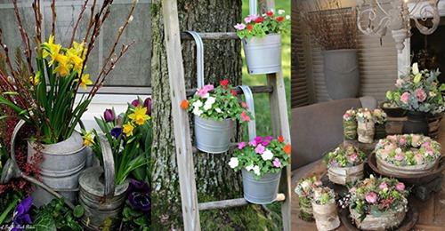 Vergessen wir nicht, den Garten mit gemütlichen Frühlingsideen zu versorgen?
