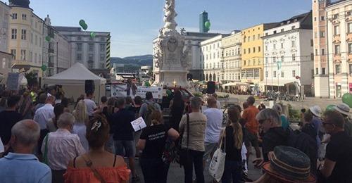 50 Wochen Widerstand in Linz: Auch zum Jubiläum kein bisschen leise