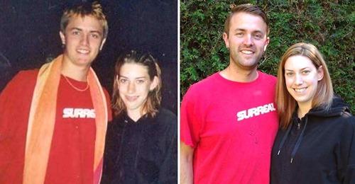 Vorher – nachher: 16 Fotos von Paaren