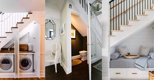 Sparen Sie mit diesen 8 genialen Ideen so viel Platz wie möglich in Ihrem Zuhause.