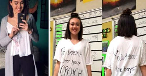"""Eine Jugendliche wird wegen ihrer Kleidung von ihren Lehrern zurück nach Hause geschickt: """"Sie wird die Jungs ablenken"""""""