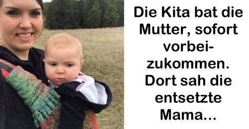 Baby wird von anderem Kind in Kita schwer misshandelt