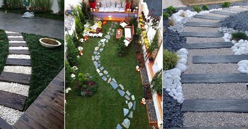 Auf der Suche nach Ideen für einen schönen Gartenweg? Schauen Sie sich die schönsten Gartenwege hier an!