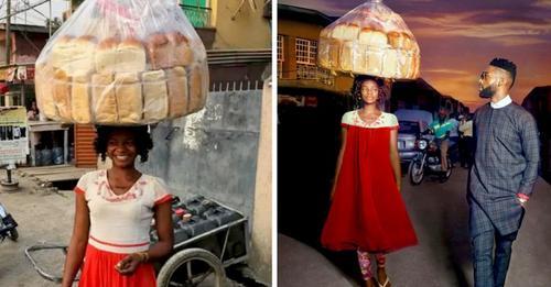 Straßenverkäufer wird versehentlich fotografiert und ist plötzlich ein erfolgreiches Model