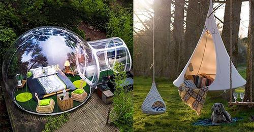 Gehen Sie dieses Jahr Campen …? Diese 8 coolen Zelte sollten Sie sich jetzt mal angucken!