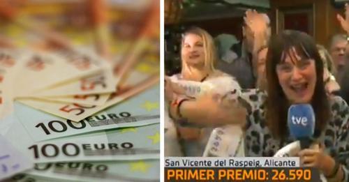 Sie verkündet im Live-TV, dass sie im Lotto gewonnen hat und ihren Job aufgeben will, aber dann erfährt sie, dass der Jackpot nur 5.000 € beträgt