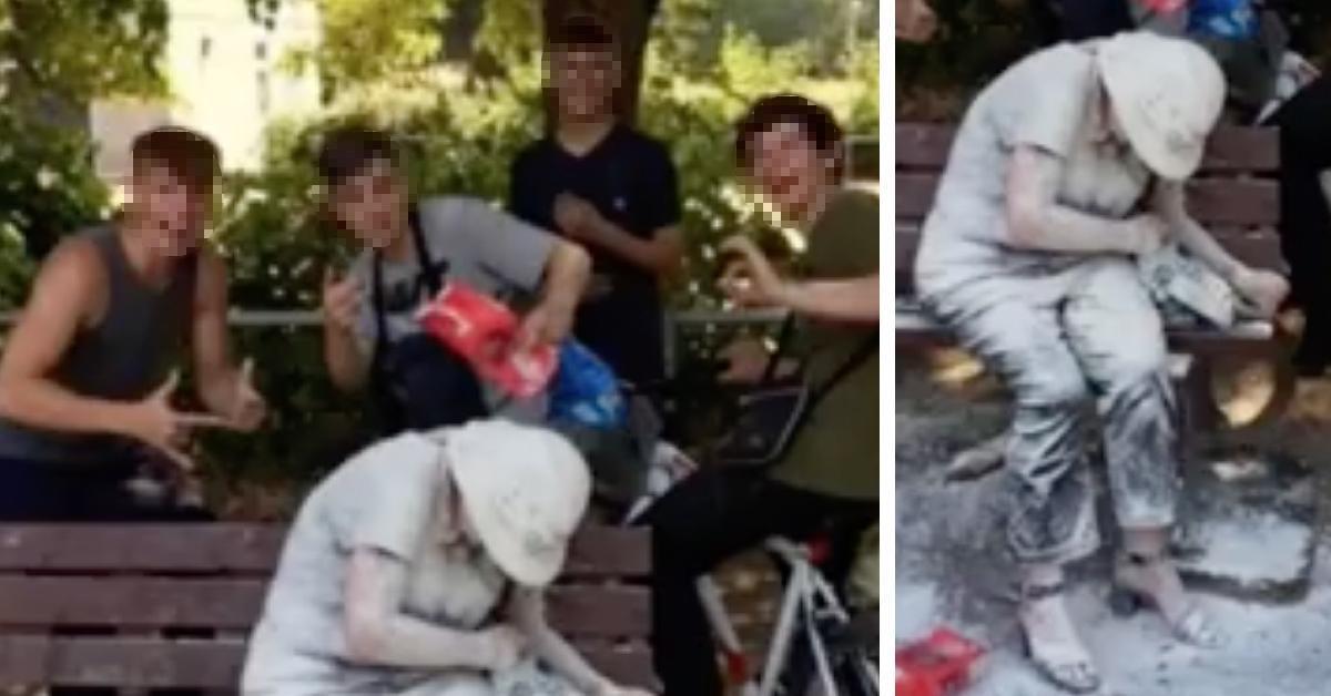 4 Teenager attackieren Frau und verhöhnen sie im Netz.