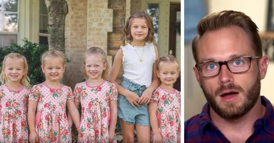 Vater von fünf Töchtern verteidigt seine Entscheidung eine seiner Fünflinge die Vorschule überspringen zu lassen