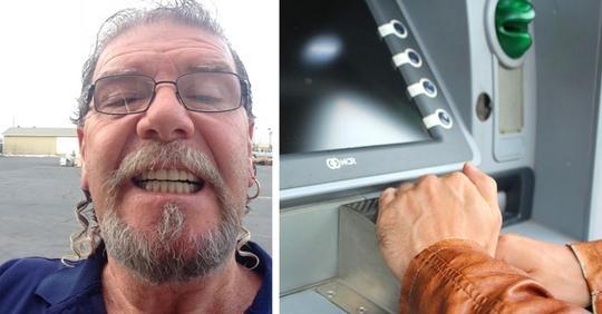 Er findet 500 $ im Schlitz des Geldautomaten und gibt sie zurück: Es war die gesparte Miete einer 92 jährigen Seniorin