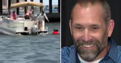 Nach Autounfall: Mann springt von 8 Meter hoher Brücke, um kleines Mädchen vor dem Ertrinken zu retten