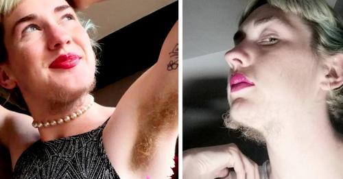 """Diese Frau hat komplett aufgehört, sich zu rasieren: """"Manchmal halten mich die Leute für einen Mann."""""""