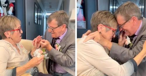 Sie sind seit 45 Jahren verheiratet, aber sie hat Alzheimer und wird jedes Mal emotional, wenn er ihr einen Heiratsantrag macht