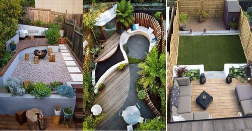 Haben Sie einen kleinen Garten? 8 schöne Inspirationsideen für kleine Gärten.