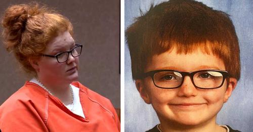 Frau, die ihren sechsjährigen Sohn getötet hat und es zugab, muss für mindestens 21 Jahre ins Gefängnis