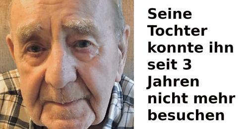 Jack Annall bekommt zum 101. Geburtstag über 5000 Grußkarten
