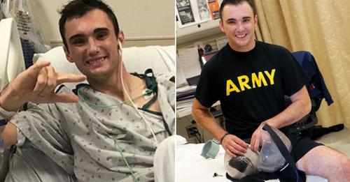 US Soldat amputiert sein eigenes Bein, um das Leben seiner Kameraden zu retten