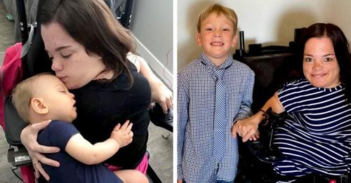 Die Ärzte hatten ihr gesagt, sie könne nicht Mutter werden: jetzt hat sie einen 5-jährigen Sohn