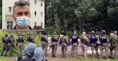 'Die polnische Polizei hat uns geschlagen': Iraker berichtet von seiner Flucht